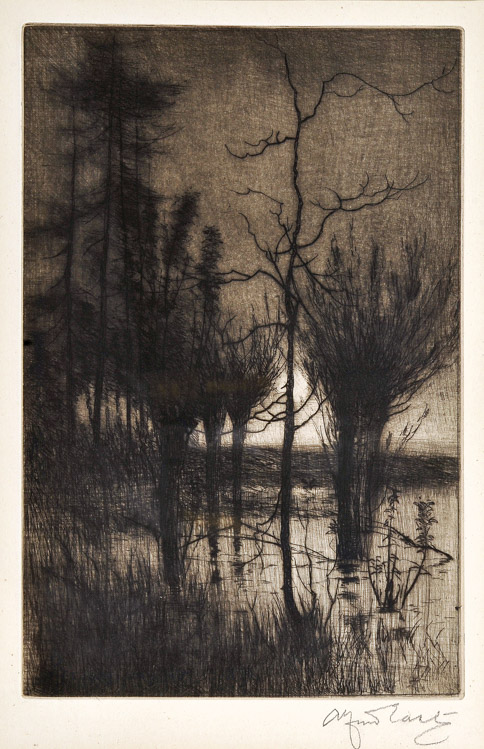 A Midnight Moon - Etching (KETKM: 56)