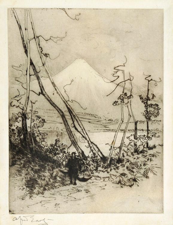 Fuji Yama - Etching (KETKM: 40)