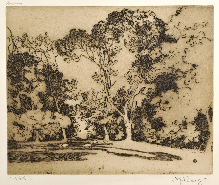 Morning 1st State - Etching (KETKM: 62)